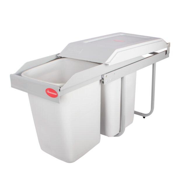 سطل زباله دو مخزنه فراسازان | تجهیز یراق