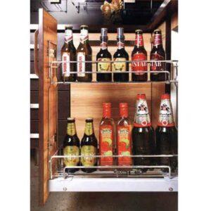 سبد ریلی جا بطری ریل از کف یونیت 25 سانت فراسازان در فروشگاه اینترنتی تجهیزیراق