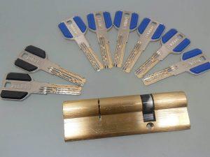 سیلندر10سانت قابلمه درب ضد سرقت با کلید کامپیوتری ویژه در فروشگاه اینترنتی تجهیزیراق