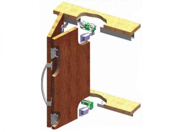 03 MKK 2 مکانیزم درب کشویی تاشو در فروشگاه اینترنتی تجهیزیراق