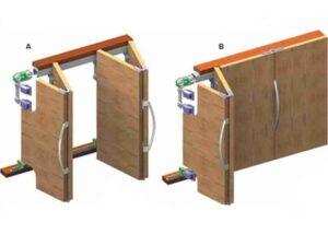 03 MKK 4 مکانیزم درب کشویی تاشو در فروشگاه اینترنتی تجهیزیراق