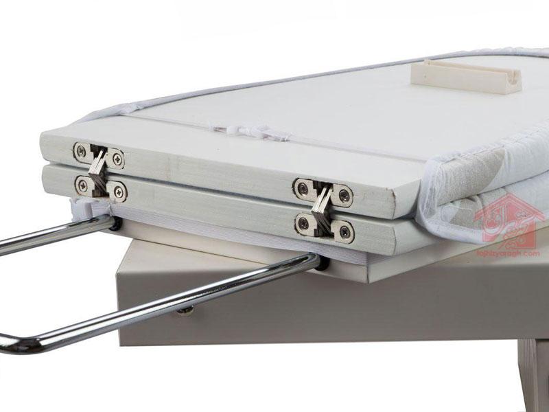لولای استیل متصل کننده ی دو کفی میز اتو 8008 ملونی