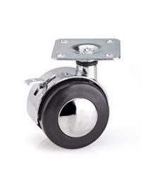 چرخ فلزی ترمزدار ملونی مدل P1014 در فروشگاه اینترنتی تجهیزیراق