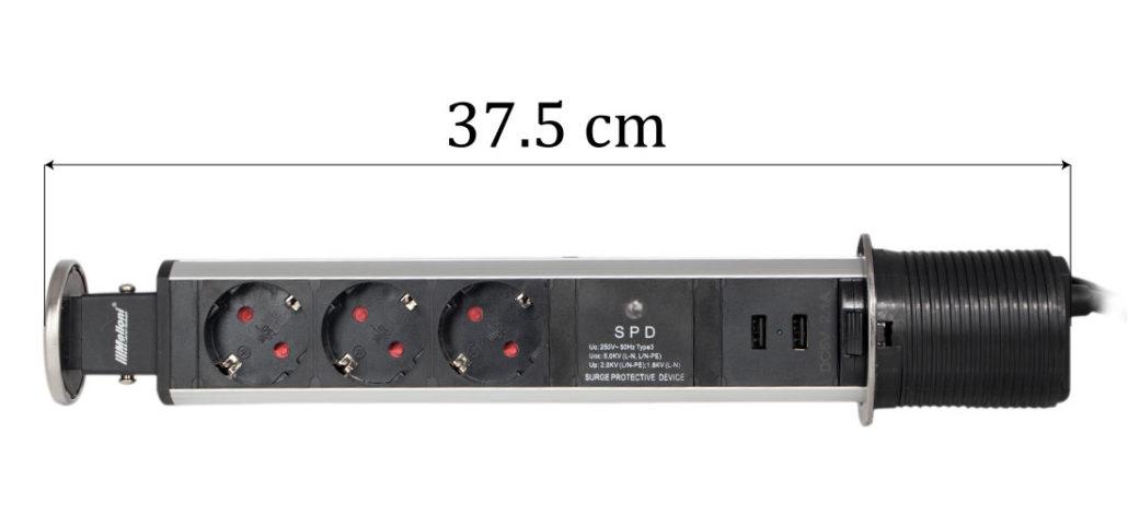 پریز توکار ملونی مدل L1006 در فروشگاه اینترنتی تجهیزیراق