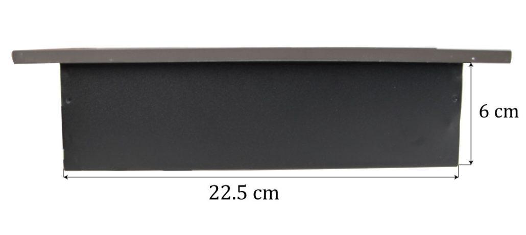 پریز توکار ملونی رنگ دودی مدل L1016 در فروشگاه تجهیزیراق