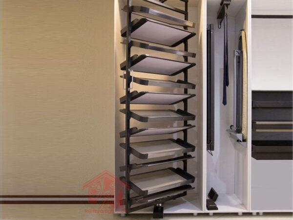 جا کفشی گردان 12 طبقه داخل کمد یونی هوپر