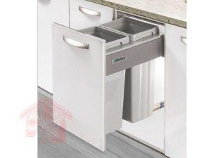 سطل-زباله-دو-مخزنه-آرام-بند-ملونی-مدل-۹۰۰۴-تجهیزیراق