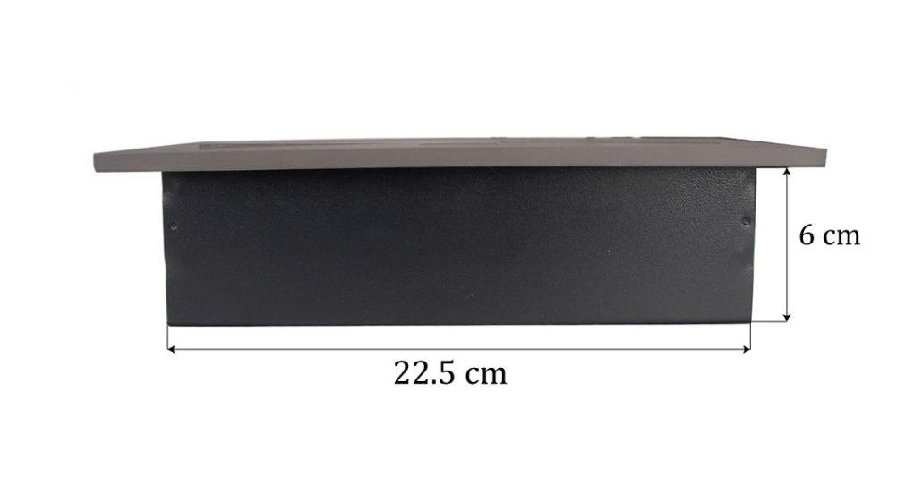 پریز توکار ملونی رنگ دودی مدل L10024 در فروشگاه تجهیزیراق