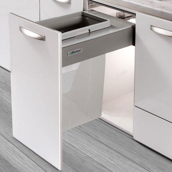 سطل زباله تک قلو ریلی ملونی کد 9005 در فروشگاه تجهیزیراق