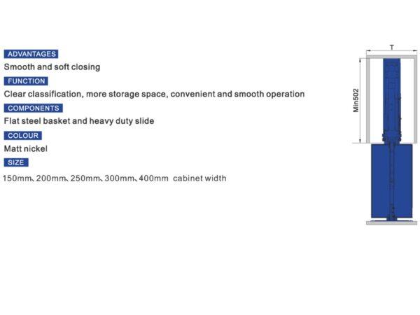 سوپر ایستاده کمدی آرام بند یونیت 20 ارتفاع 227_197 در فروشگاه تجهیزیراق