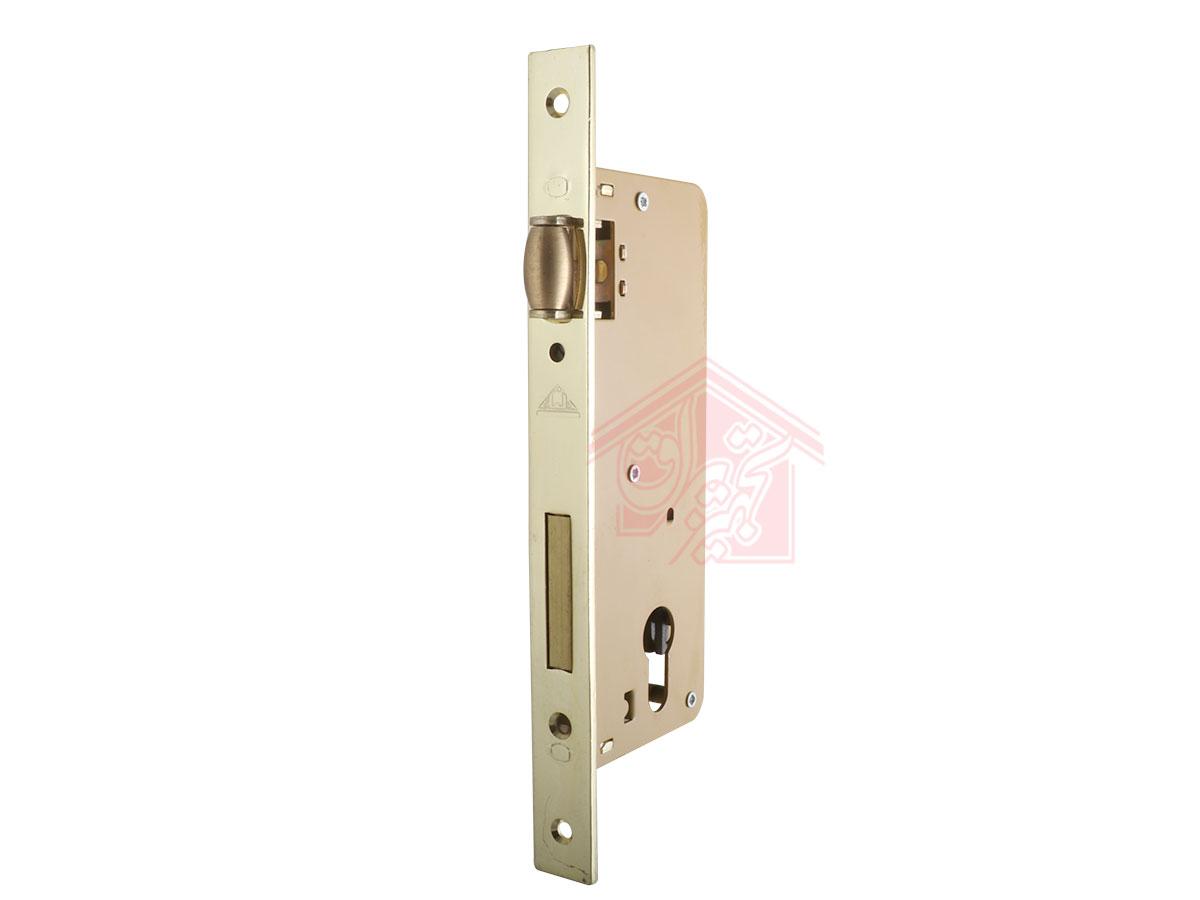 نمای 45 درجه قفل درب غلطکی 6.5 سانت