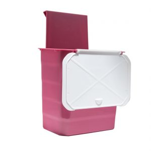 سطل زباله روی درب کابینت در فروشگاه اینترنتی تجهیزیراق