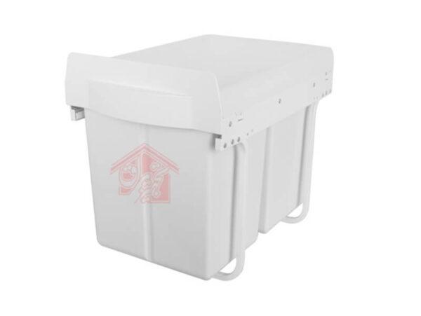 سطل آشغال زیر سینک آرام بند ملونی-تجهیزیراق