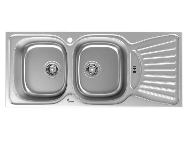 سینک توکار سیمر مدل S161 از نمای روبرو
