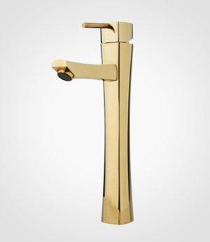 شیر روشویی بلند راسان مدل لیانا-طلایی در فروشگاه اینترنتی تجهیزیراق