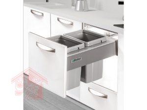 سطل-زباله-کابینتی-کشویی-آرام-بند-ملونی-مدل-9003-تجهیزیراق