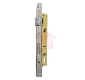 نمای 45 درجه قفل سویچی درب آهنی 3.5 سانت دلتا
