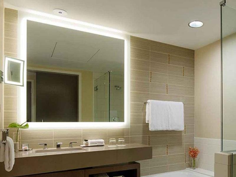 سنسور لمسی پشت آینه