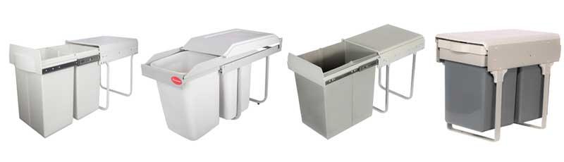 انواع سطل زباله کابینتی_تجهیز یراق