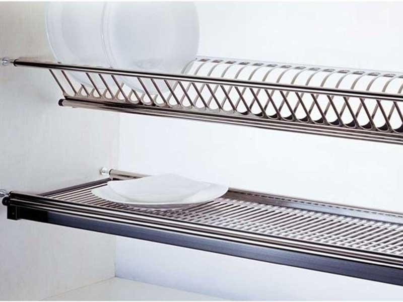 ابچکان دو طبقه با ظرفیت جاگذاری ظروف بیشتر