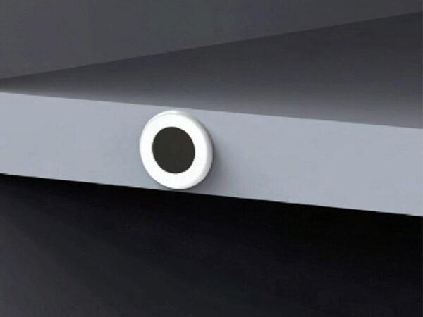سنسور داخل درب کمد توکار نصب شده