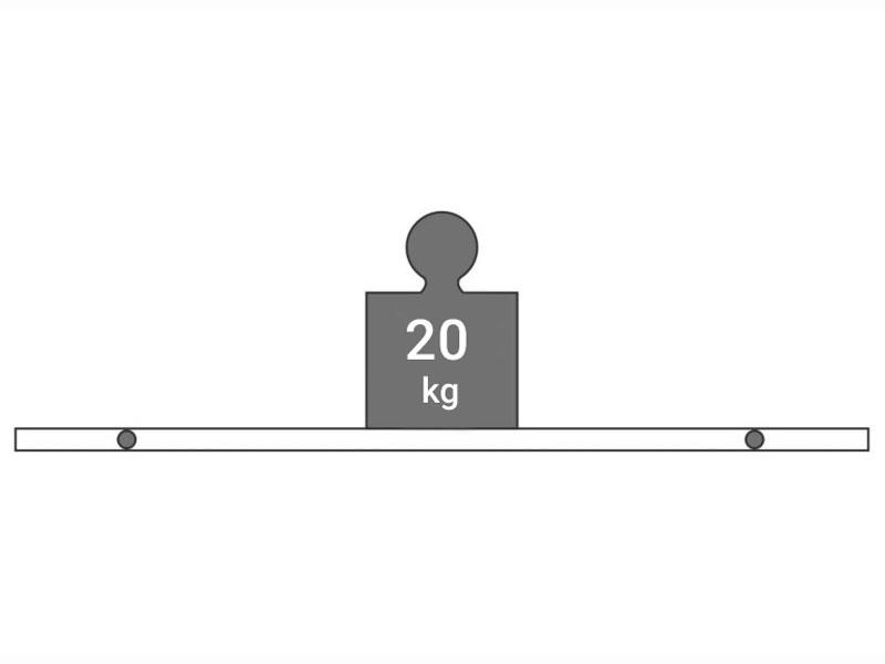 تحمل وزن بست شلف طبقه چوبی