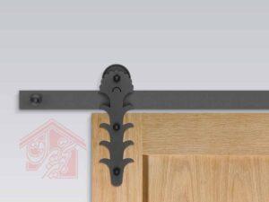 درب کشویی چوبی مدل R-125-تجهیزیراق