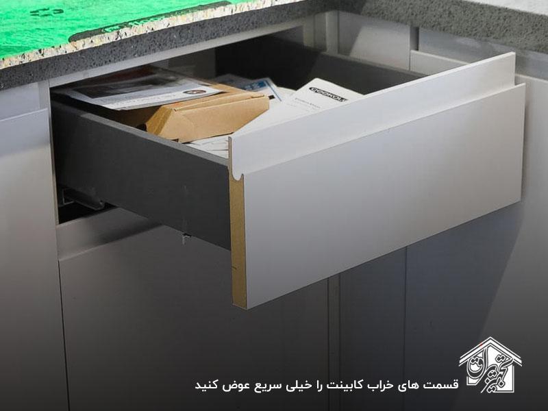 خیس شدن کابینت ام دی اف، یکی از اصلیترین دلایل خراب شدن کابینت