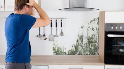 ایجاد رطوبت در کابینتهای آشپزخانه